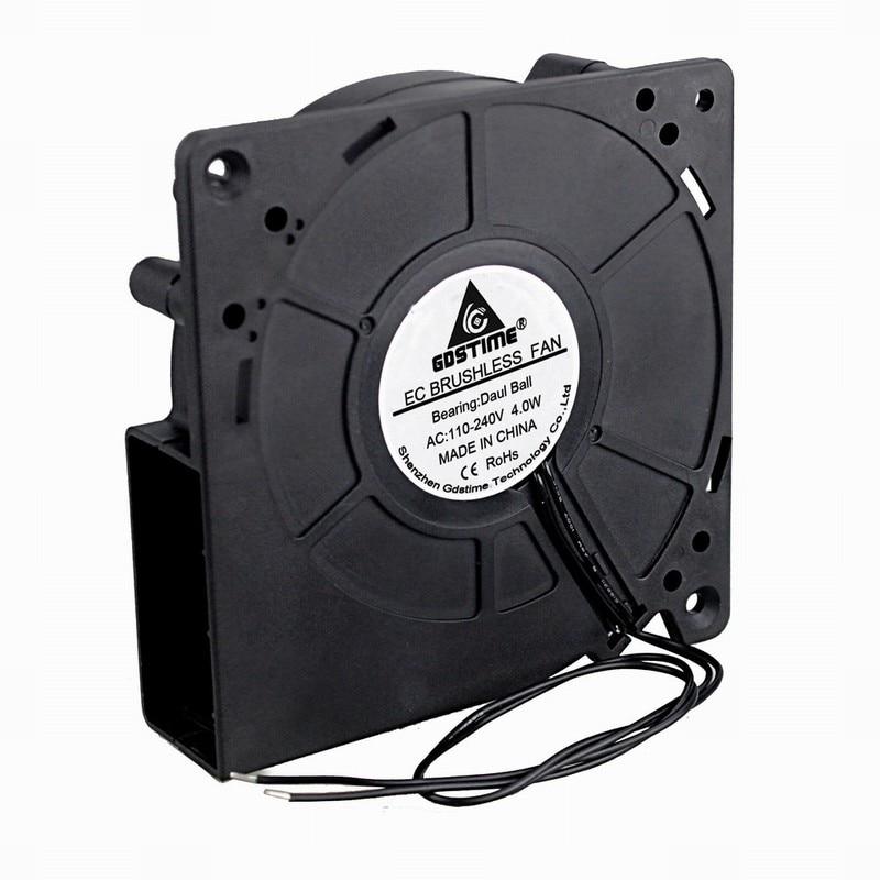 Ventilador EC 110v 120V 220V 12038 12cm 120mm ventilador axial doble rodamiento de bolas ventilador de turbina de alto volumen de aire