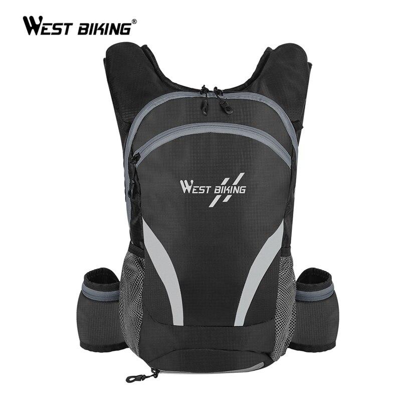 Bolsa de bicicleta WEST BIKING 15L, mochila para ciclismo, bolsa de agua para bicicleta, bolsa transpirable para senderismo, escalada, mochila para bicicleta