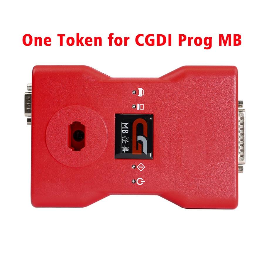 Un Token para CGDI Prog MB para programador de llaves de coche Benz
