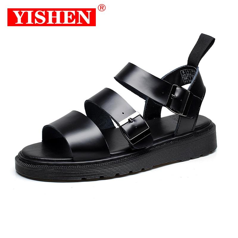 YISHEN Men Sandals Men's Trending Summer Outdoor Leisure Non-Slip Beach Luxury Sandals Fashion Shoes Slippers Women's Sandals