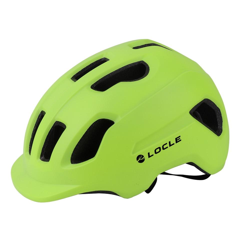 LOCLE-Casco ultraligero para bicicleta de montaña y carretera, tamaño 57-62cm