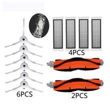 Set-robot aspirateur brosse principale rouleau filtre boîte à poussière réservoir deau pour xiaomi 1s 2s pour roborock S50 S55 S6 pièces