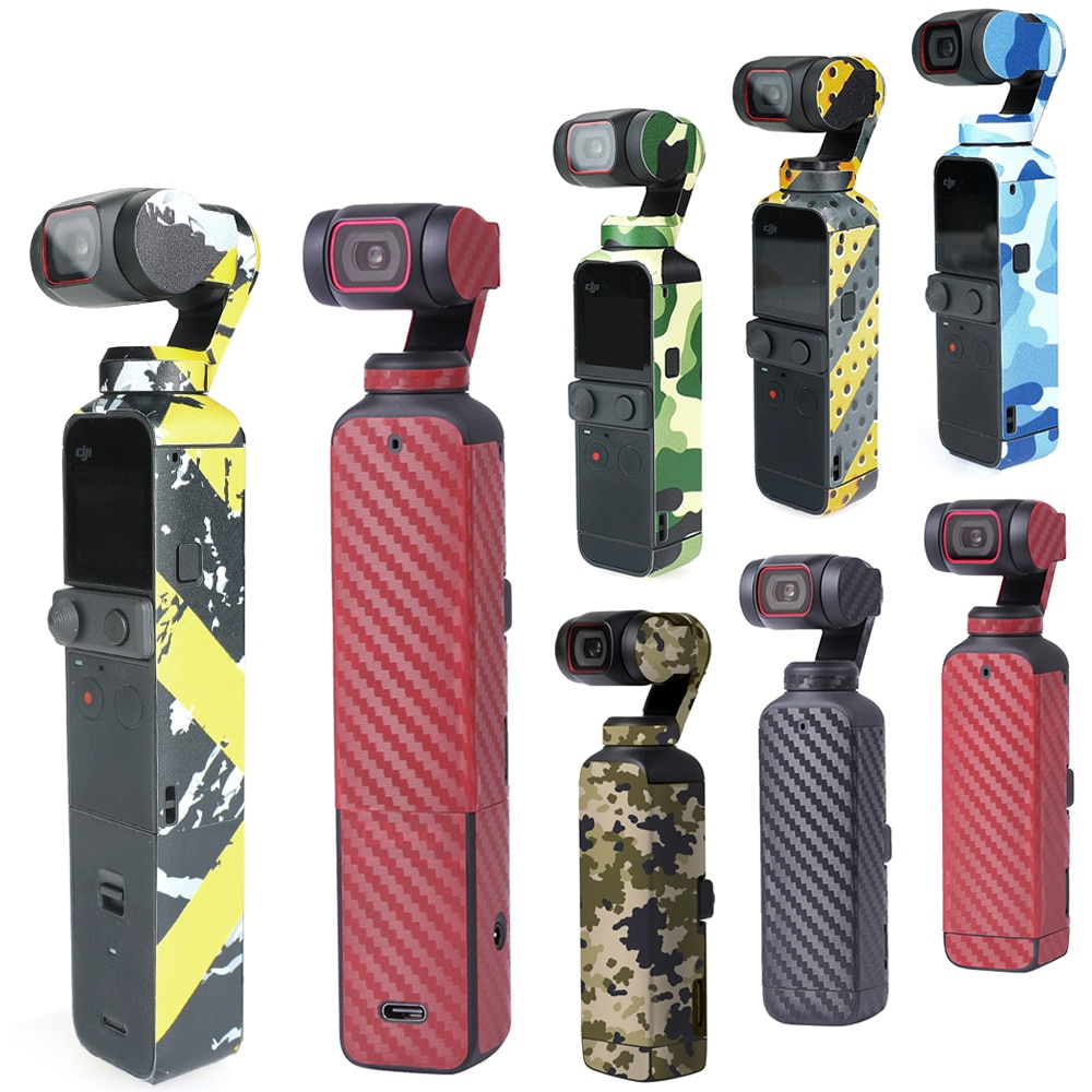 Waterproof Protective Decal for Dji Osmo Pocket 2 Stickers Scratch-Proof Decals Full Cover Skin Accessories