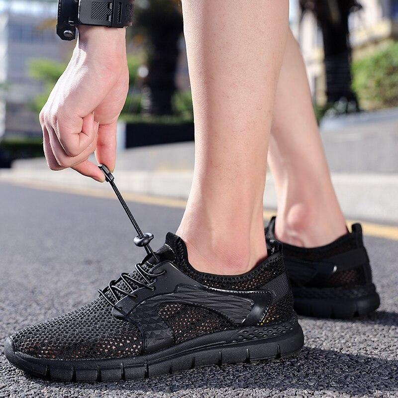 أحذية حياكة خفيفة رجالية بشبكة أحذية رياضية سوداء للرجال أحذية رياضية رجالية أحذية خفيفة أحذية مانين حمراء أحذية رياضية