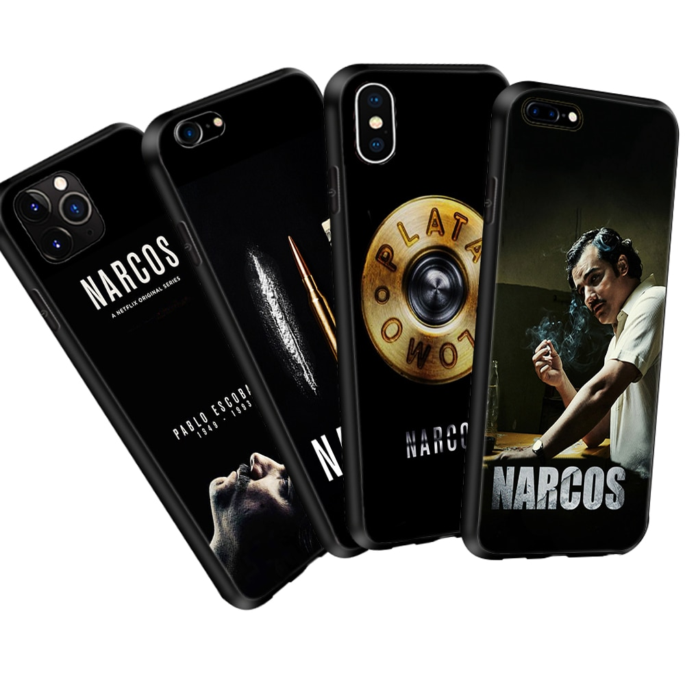 Funda para iPhone 11 Pro Max XR XS 5 6 6S 7 8 Plus de TPU suave funda de silicona