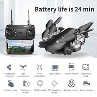 hj28 drone long flight time 4k wide angle camera wifi fpv dron quadcopter height keep drones with best gift for children