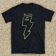 Inspiré par LCD Soundsystem perdre mon bord américain danse Punk groupe non officiel hommes T-Shirt livraison directe coton T-Shirt décontracté