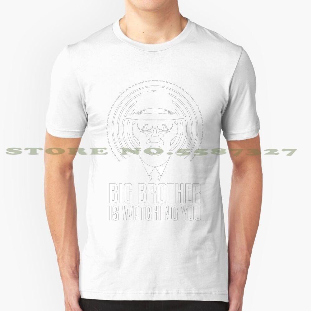 Gran Hermano te está mirando diseño de moda camiseta Gran Hermano 1984 Ingsoc Nwo Nsa espiar hackear anónimo de la política