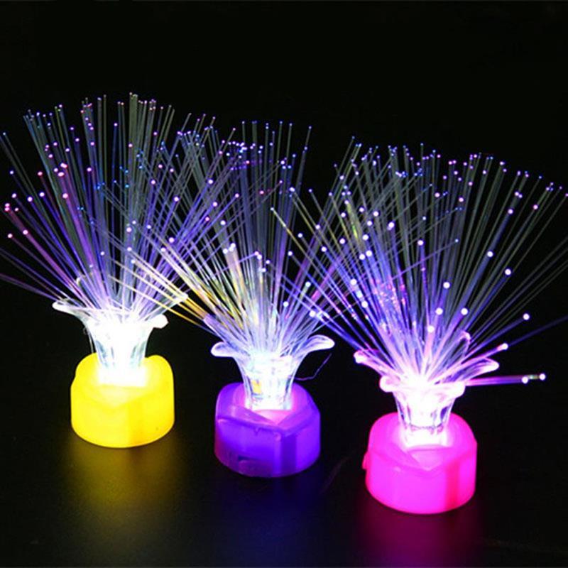 Luces LED de noche coloridas que cambian de Color, lámparas con batería...