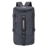 Вместительный дорожный рюкзак для мужчин, рюкзак для альпинизма, мужской холщовый мешок на плечо, уличный ранец