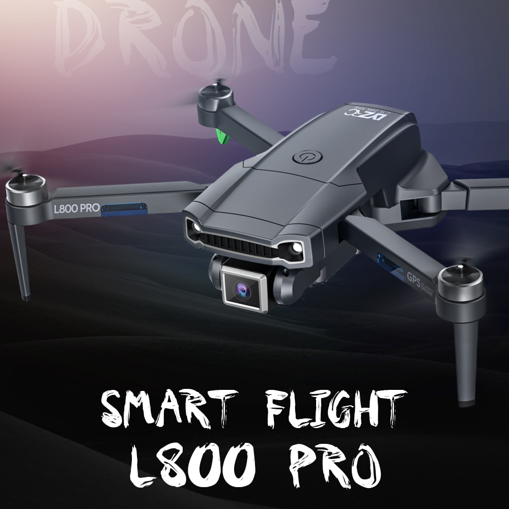 L800 pro GPS Drone 4K Professional Dual Camera 5G WIFI FPV Dron Aerial Photography Brushless Motor Foldable RC Quadcopter enlarge
