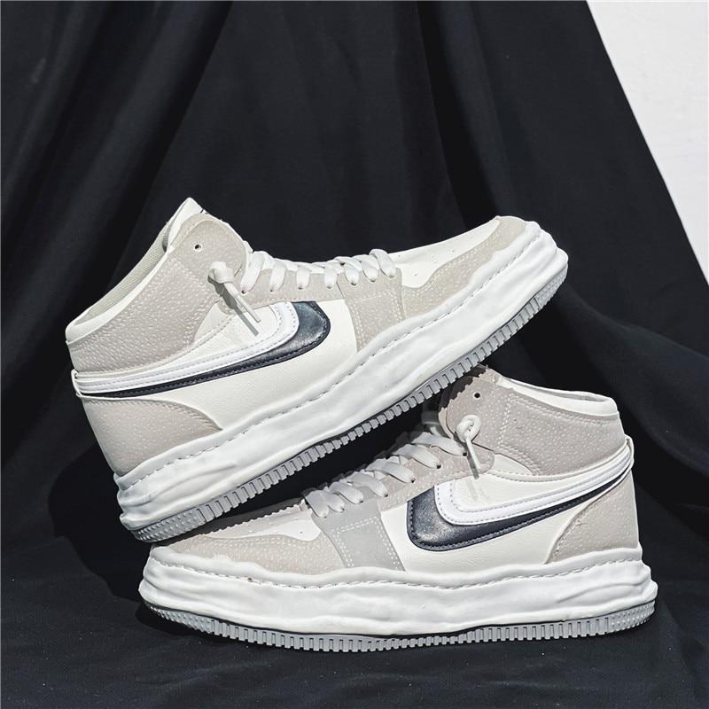 Chaussures de sport pour hommes, baskets confortables, respirantes, décontractées, pour extérieur, basket-ball, course à pied
