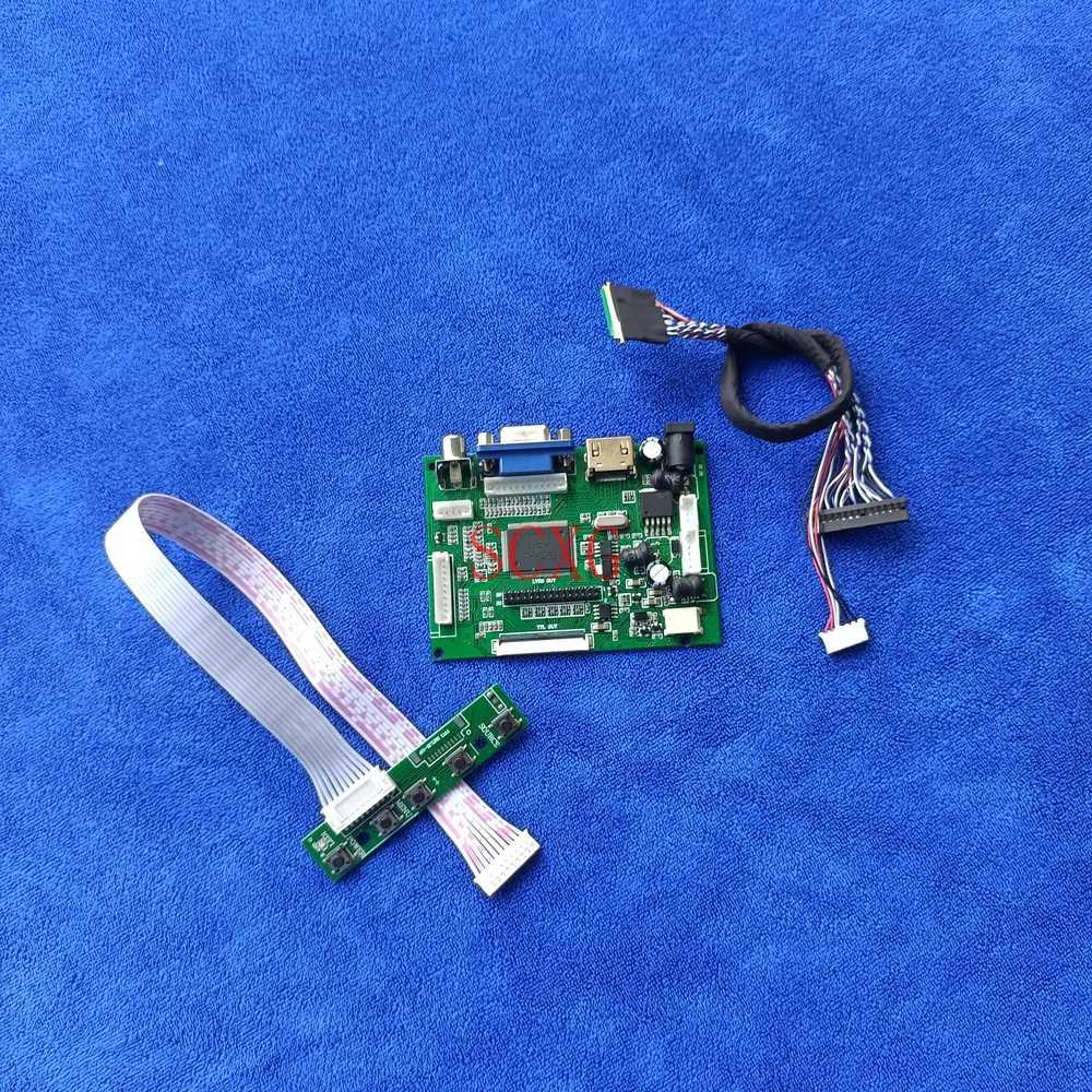 LVDS 40 دبوس صالح LP156WH2-TLE1/TLF1/TLQ1/TLQA/TLR1/TLRB 1366*768 عدة VGA AV HDMI-متوافق مع لوحة WLED شاشات كريستال بلورية محرك المجلس