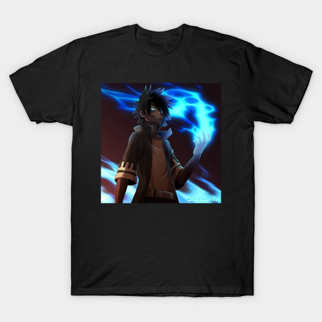 Camiseta masculina dabi hero academia tshirt camiseta feminina