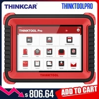 thinkcar thinktool pro obd2 professional full system diagnostic tool scanner code reader car auto scanner ecu coding active test