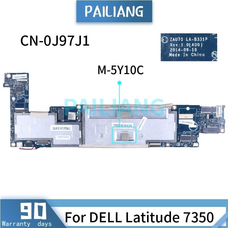 لديل المكان 11 برو 7139 I5-4300Y الكمبيوتر المحمول اللوحة الأم 0RFDKW SR192 DDR3