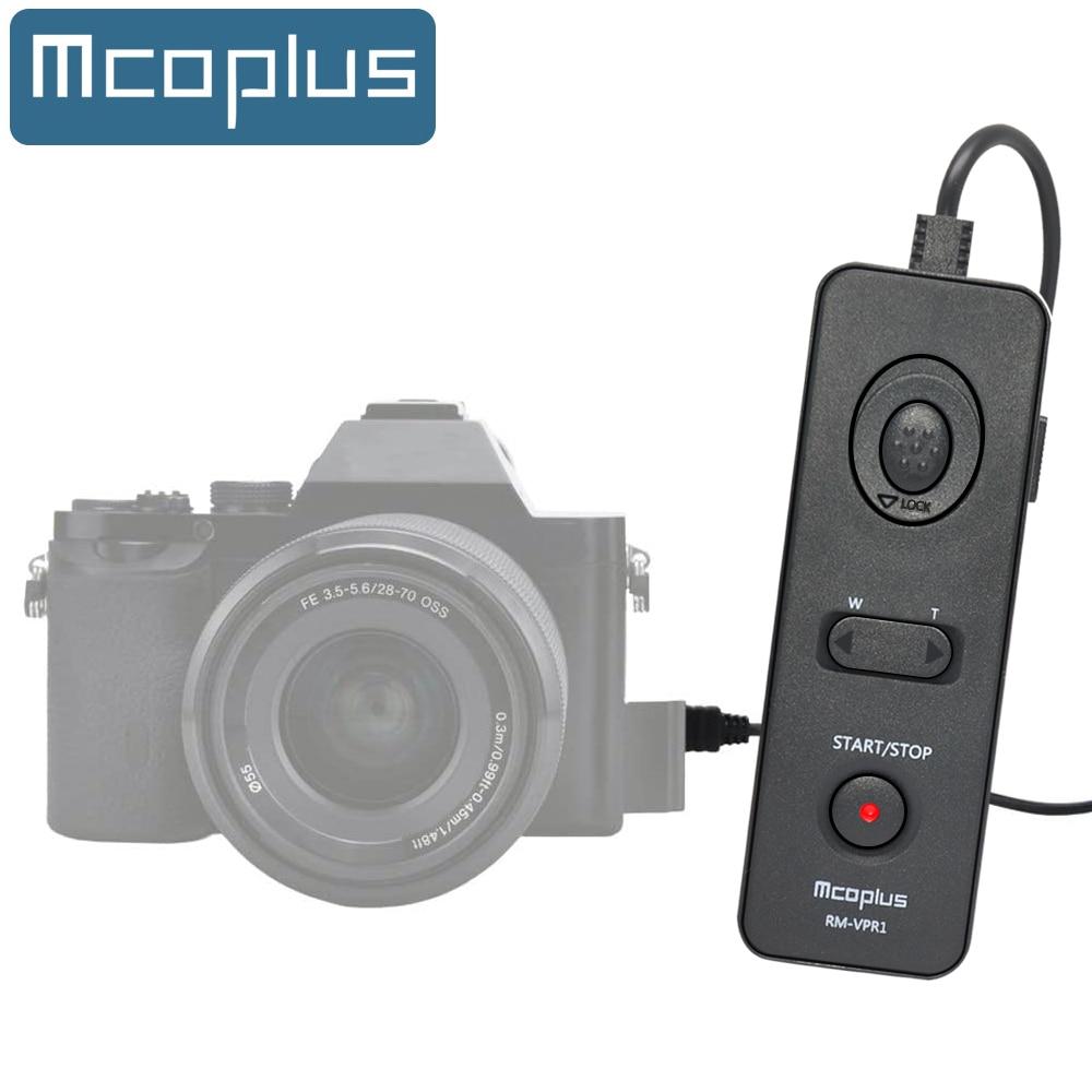 Mcoplus RM-VPR1 Disparador remoto para Sony Alpha A7 A7R A7RII A7RIII A3000...