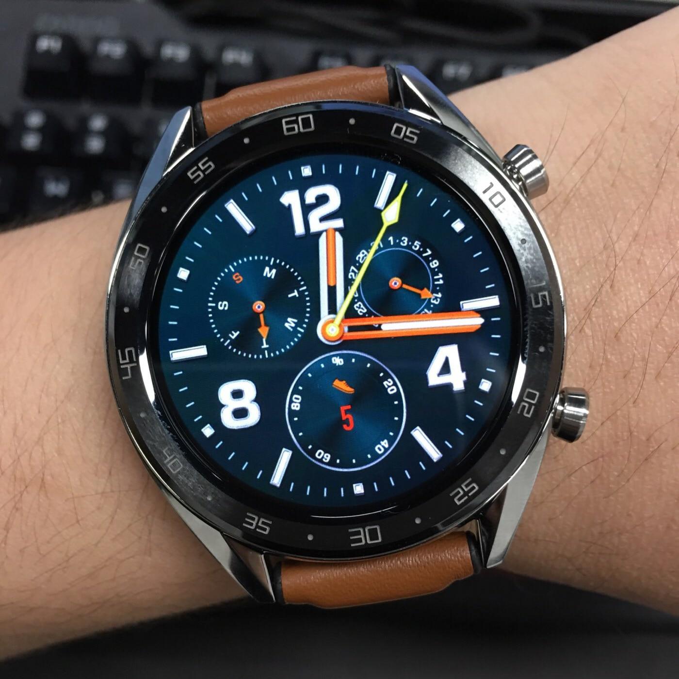 95% NEW Original HUAWEI Watch GT In Stock Smart Watch Sleep Support Waterproof Heart Rate Tracker GPS Sport Tracker SmartWatch