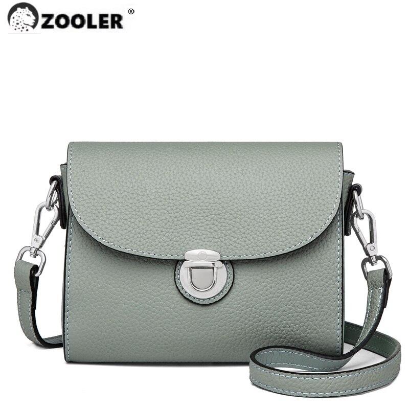 محدودة!! ZOOLER جودة عالية الجلد المحافظ نمط جلد طبيعي المرأة حقائب كتف حقيبة يد جلدية ناعمة السيدات حقيبة # sc808