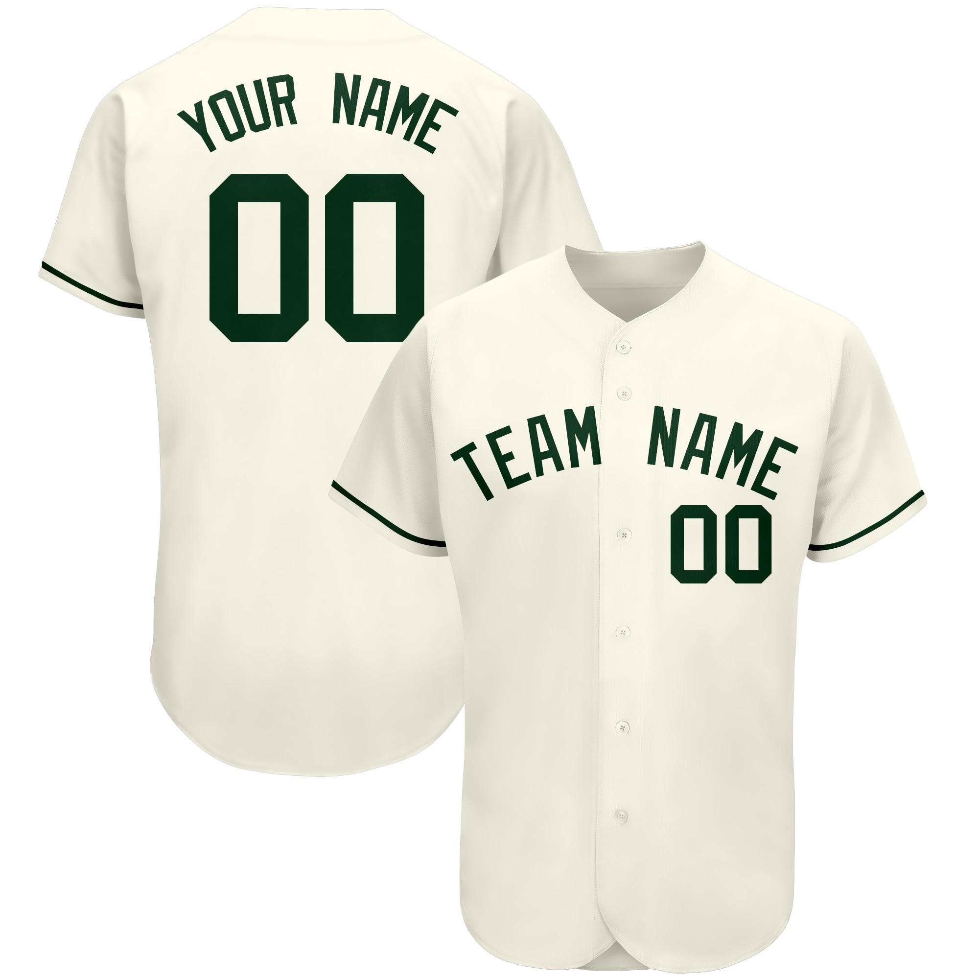Мужская бейсбольная майка для американской команды с номером и номером