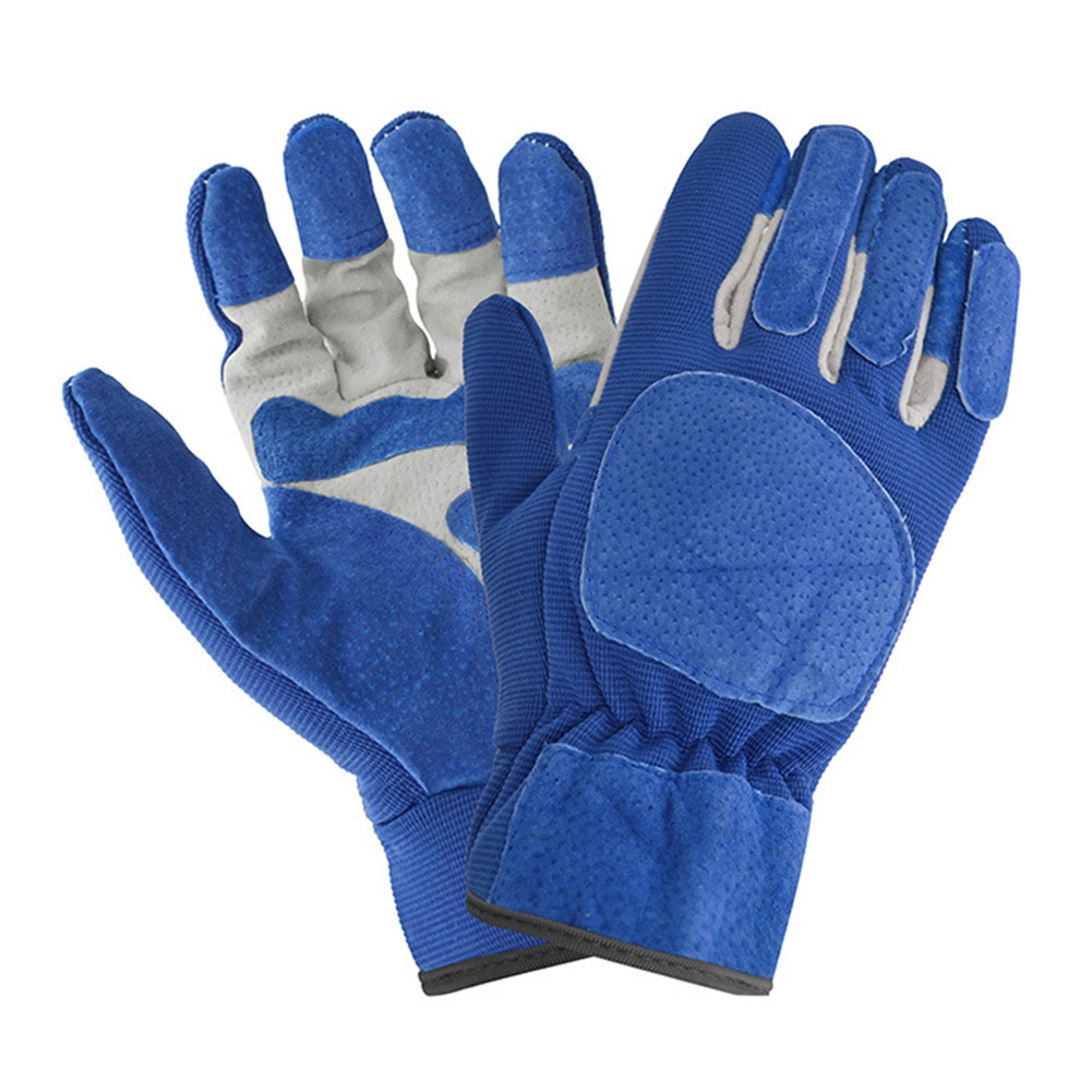 AliExpress - New 2Pcs Garden Gloves Anti-slip Breathable Leather Gloves Quick Easy To Dig And Plant For Digging Planting Garden Tools