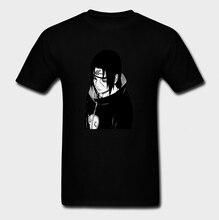 Itachi Naruto Men T Shirt New Funko Pop Big Size O-neck Cotton Short Sleeve Men Clothes 2018