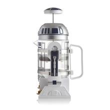 Кофейник 960 мл Домашний Мини Звездные войны R2-D2 ручная Кофеварка французский прессованный кофейник портативная Кофеварка турецкий кофе
