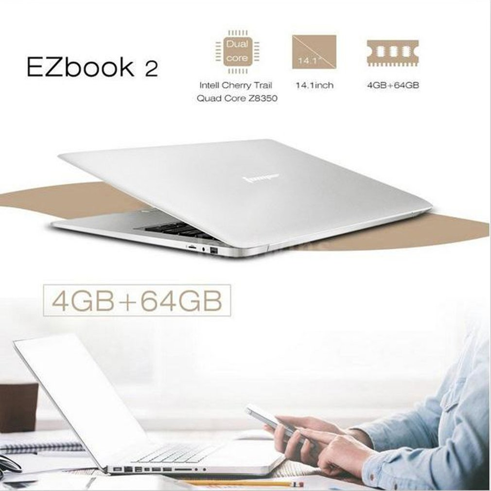 14 Inch Laptop Cheap Computer Windows 10 Redstone Pc Notebook 16:9 Ultra-Thin Portable Laptop WiFi Camera 10000mah Battery