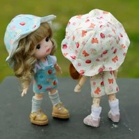 ob11 doll clothes molly beautiful knot pig gsc 112 1 8bjd doll clothes accessories t shirt dress suit hat doll clothes