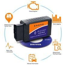 Автомобильный диагностический сканер ELM327 Bluetooth OBD2 V2.1 Android PC для Volkswagen Lada Infiniti Volvo Renault Mitsubishi Subaru