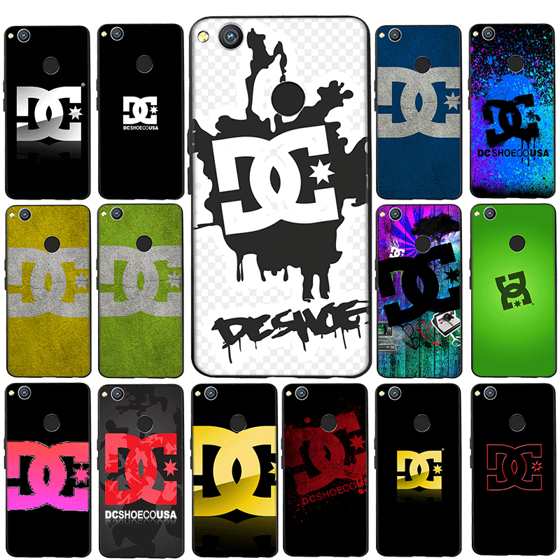 Dc Shoes Couple Silicone Phone Case for Huawei P8 P10 P20 P30 P9 Lite Mini P20 P30 Pro Cover