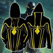 The Avengers-vestes pour enfants   Vestes dautomne, sweat-shirt à capuche pour garçons, manteaux Spiderman pour adolescents, veste de Cosplay à manches longues