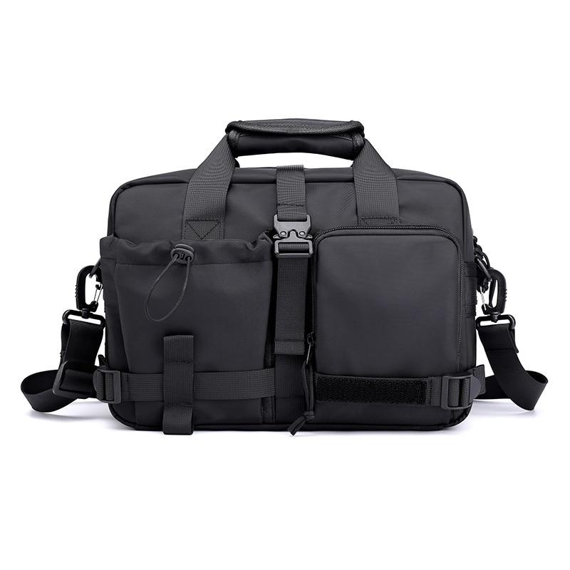 Multifunction Messenger Bag Men Crossbody Bags Waterproof Nylon Large Capacity