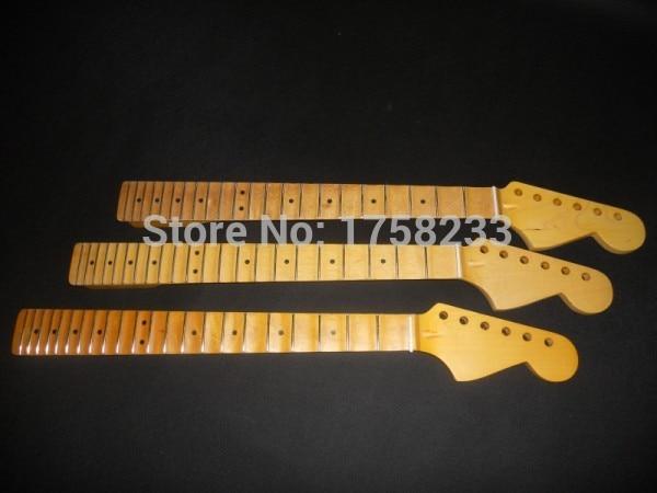 Wholesale matt finish vintage guitar neck with scalloped hot sale Fingerboard groove neck for  guitar neck enlarge