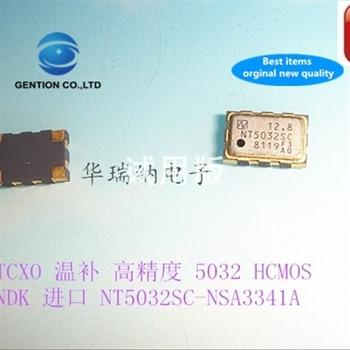 5pcs 100% new and orginal NT5032SC 5032 temperature compensation 12.8M 12.8MHZ 12.800MHZ 5x3.2mm