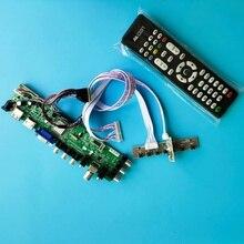 LP133WH2-TLA4/LP133WH2-TLA2 신호 디지털 컨트롤러 보드 용 키트 1366X768 LED USB VGA TV 패널 DVB-T2 스크린 HDMI AV 리모컨