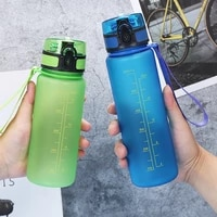 frosted space cup outdoor water bottle riding portable sports bottle plastic summer large capacity water cup bpa free