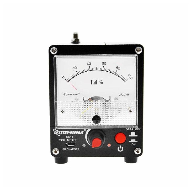 سوركوم SS11 رف سينغال قوة متر 100K-3GHz قوة المجال رسسي متر حساسية عالية مع المدمج في البطارية