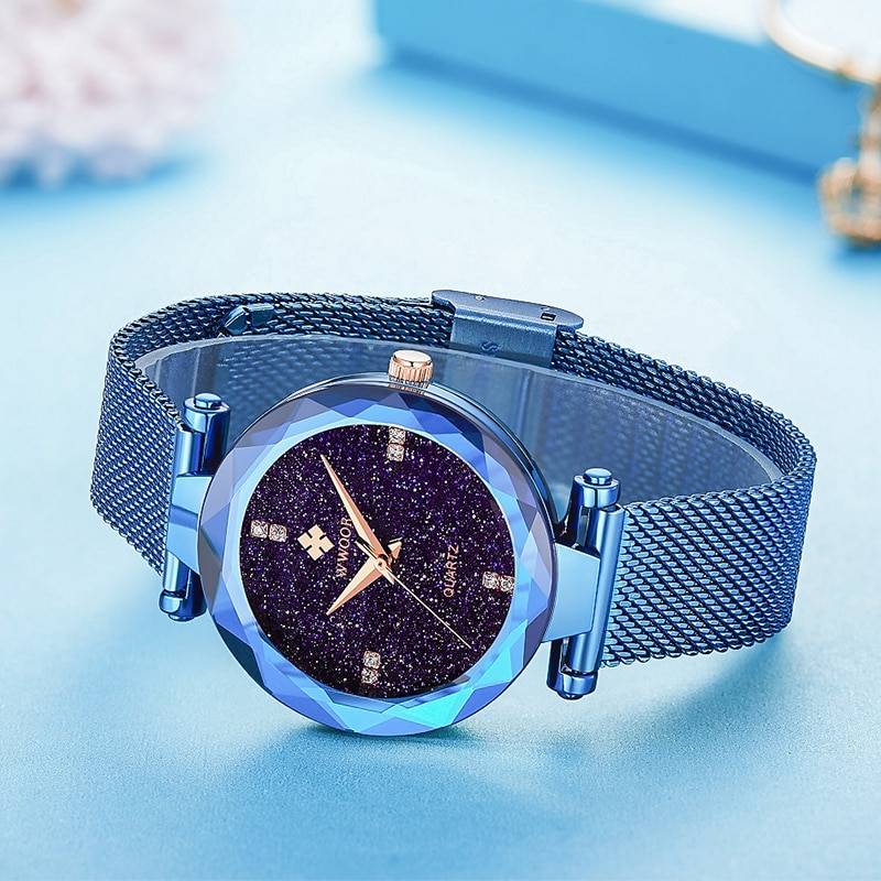2021 Women Watch WWOOR Luxury Top Brand Fashion Casual Dress Ladies Quartz Watch Diamond Waterproof Wristwatch Relogios Feminino enlarge