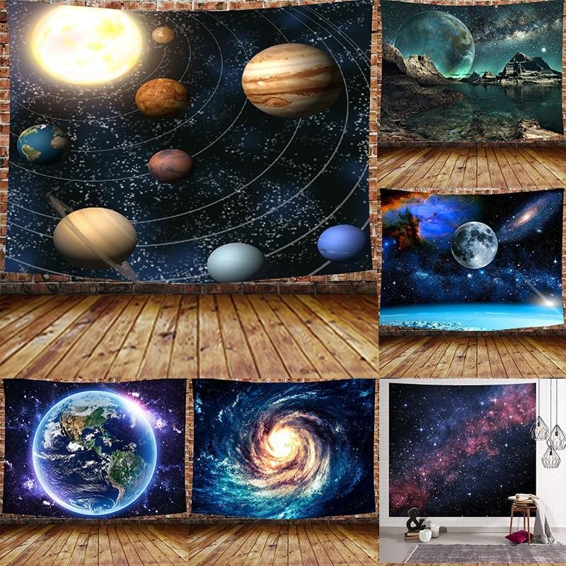 Tapisserie murale suspendue mystérieuse avec impression numérique 3d, 100x7, 3/200x150cm, décoration pour la maison