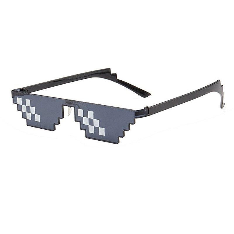Фото - Забавные фокусы очки Thug Life 8 Bit Pixel Deal With IT солнцезащитные очки унисекс солнцезащитные очки игрушка для детей и взрослых забавные Toys1 солнцезащитные очки pixel crew deal with it