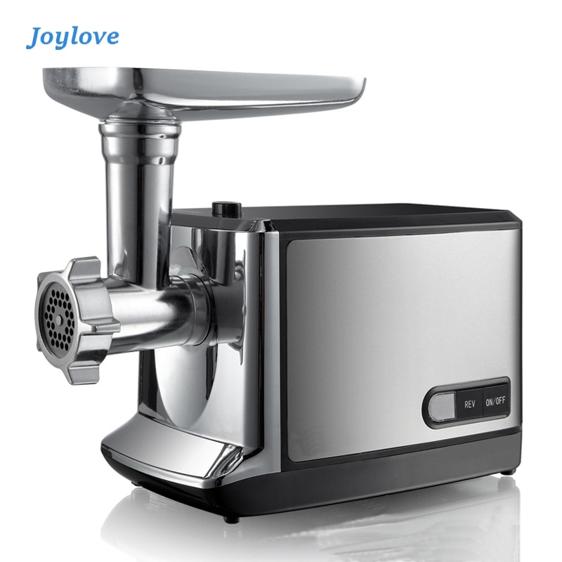 JOYLOVE Household Commercial Electric Meat Grinder Stainless Steel Multi-function Automatic Stuffing Minced Meat Enema Machine household juicer automatic blender juicer machine multi function meat grinder ice crusher power machine electric juice extractor
