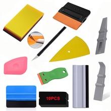 FOSHIO Pro Car Window Tint Film Carbon Fiber Application Tools Car Wrapping Tools Kit Vinyl Stick Squeegee Rubber Water Scraper