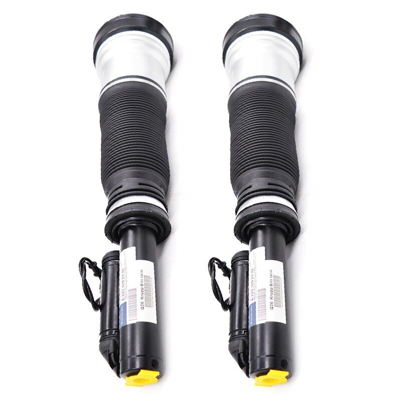 1 par de amortiguadores de suspensión neumática para Mercedes W221 s-class 2007-2012 OEM A2213209313 A2213204913 A2213209813 A2213200038