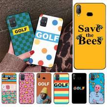 HPCHCJHM Golf Wang Tyler créateur étrange futur Santa Cruz noir étui de téléphone pour Samsung A10 A20 A30 A40 A50 A70 A71 A51 A6 A8 2018