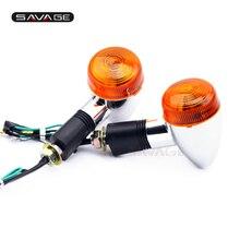 Turn Signal Indicator Light For SUZUKI GSX 400 1200 1400 600 750 KATANA GSXR 1100 TL1000 SV650 Motorcycle Turning Blinker Lamp