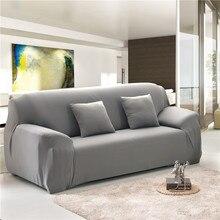 Einfarbig Elastische Sofa Abdeckung für Wohnzimmer Universal-Stretch L-stil Schnitts Ecke Sofa Couch Abdeckung Hussen 23 farben