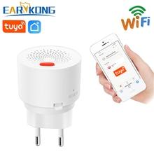 WIFI Gas Detektor Brennbaren Haushalt Smart Gas Alarm Sensor 2020 Neue Wifi Home Alarm System Tuyasmart / Smart Leben APP
