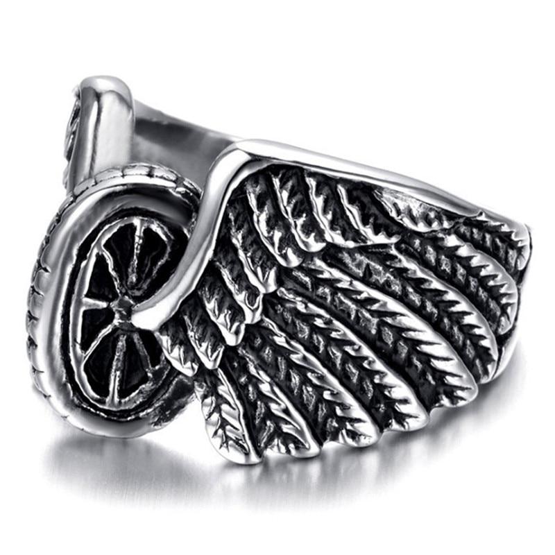 FDLK águila motocicletas neumático de moda de diseño de Motor de anillo de hombre bisutería al por mayor