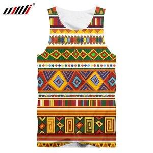 CJLM Gyms Clothes Hiphop Punk Sleeveless Shirts New Arrival men's summer 3D Cool Print Tank Top Man Singlets Vest dropship S-5XL